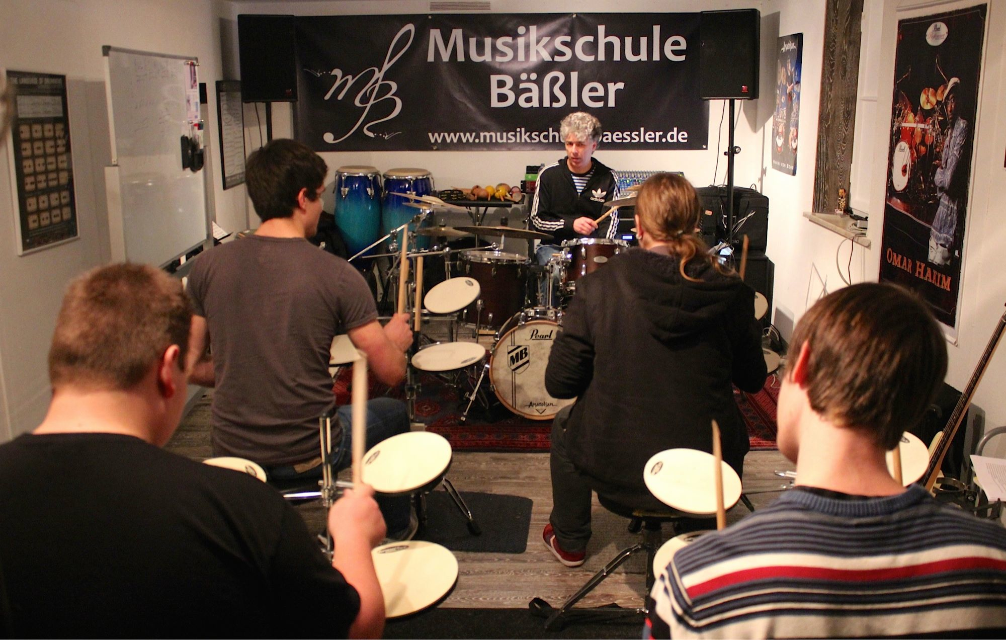 Drum Clinic in Asperg 11/2014